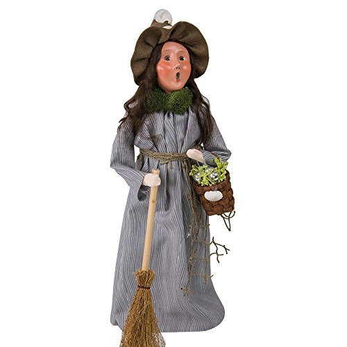 Byers Choice Witch (Byers Choice Beach Witch- Signed by Joyce Byers)