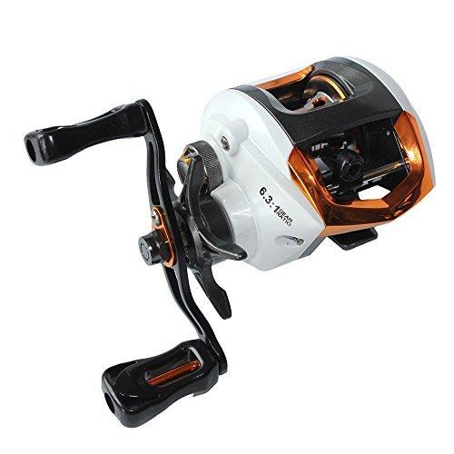 (Lixada Baitcasting Fishing Reel 12+1 Ball Bearings 6.3:1 Gear Ratio High Speed Baitcast Baitcaster Reels with Magnetic Brake System (Left/Right Hand))