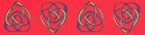 Celtic Trim Knot (Country Brook Design 5/8 Inch Celtic Motherhood Knot Grosgrain Ribbon, 5 Yards)