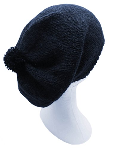 Handmade PURE ALPACA Rasta Hat - Dark French Blue (CUSTOM MADE ORDER) by BARBERY Alpaca Accessories