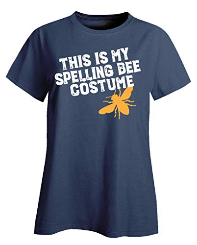 This is My Spelling Bee Costume Funny Beekeeping Art for Halloween Apairist - Ladies T-Shirt