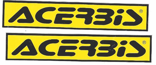 Acerbis Racing Decals Stickers Set of 2 Dirt Bike Motorcycles Supercross Motocross ATV (Acerbis Atv)