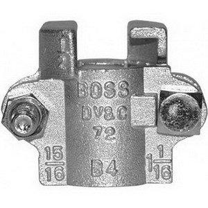 Dixon B-9 2-Bolt Boss Clamp, 1-20-64'' - 1-32-64'', 3-4'', 450 deg F