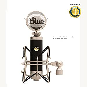 Blue Microphones Baby Bottle Cardioid Condenser Microphone with 1 Year Free Extended Warranty