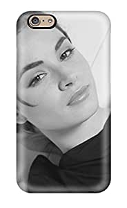 Hot Fashion CaQKEvb3571ZbEPx Design Case Cover For Iphone 6 Protective Case (mia Maestro Black Dress Top Bed Look Actress Model Woman People Women)