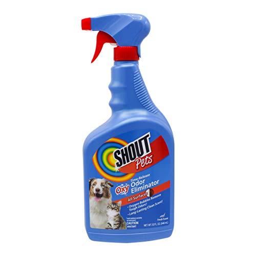 SHOUT PETS Turbo-Oxy Time-Release Odor Eliminator 32 oz.