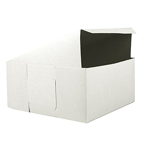 Cake Boxes White 16 x 16 x 5 Inches, 5 Count by GSA