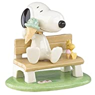 Lenox Peanuts Happiness is Ice Cream with Snoopy