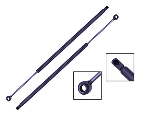2 Pieces (SET) Tuff Support Hatch Lift Supports 1993 To 2002 Pontiac Firebird / Chevrolet Camaro (Not Convertible) - 2002 Pontiac Firebird Convertible