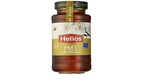 HELIOS miel pura de flores frasco 750 gr: Amazon.es: Alimentación y bebidas