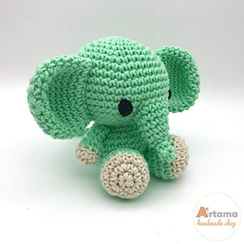 Amigurumi To Go: Cute Elephant Video Tutorial In The Works ... | 500x500