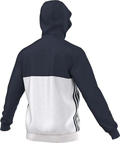 blanco marino sudadera hombre con azul T16 capucha azul para Adidas Zzpqw