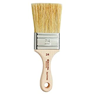 "Global Art Materials Flat Natural Bristle Restore Premium Brush, 2"" (B011RQD5D4) | Amazon price tracker / tracking, Amazon price history charts, Amazon price watches, Amazon price drop alerts"