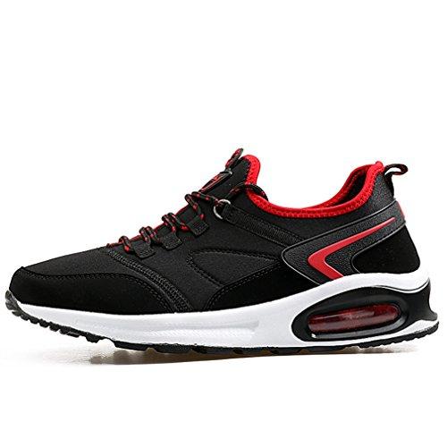 LFEU Unisex rojo bajo adulto caño negro y botas de 4ISBqaWIr