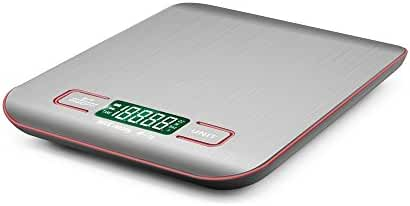 Bengoo Digital Food Scale Slim Stainless Multifunction Kitchen Scale with LCD Display and Tare Function