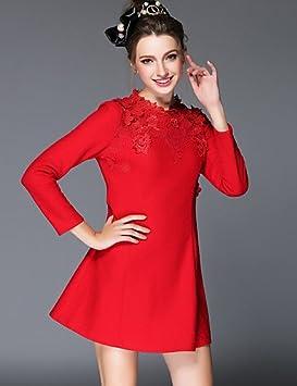 LYQ/ De las mujeres Tallas Grandes Vestido Tallas Grandes / Vintage / Fiesta / Para