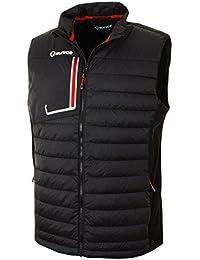 Men's Ingo Thermal Featherless Down Gilet Jacket - US S - Black/Black