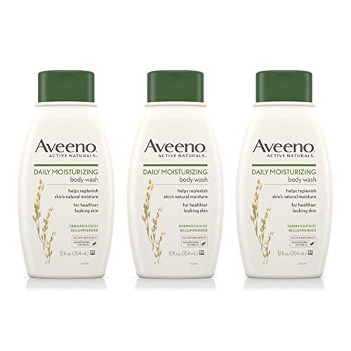 Aveeno Daily Moisturizing Body Wash, 12 Fl. Oz (Pack of (Moisturizing Body Gel)