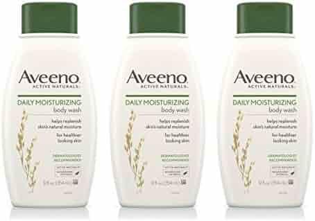 Aveeno Daily Moisturizing Body Wash, 12 Fl. Oz (Pack of 3)