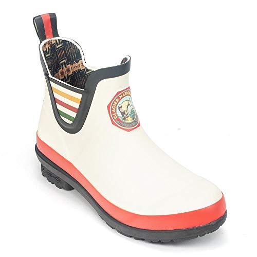 (Pendleton Women's Heritage Acadia National Park Chelsea Boot (8 M US, Glacier Park White))