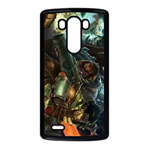 League of Legends Cutpurse Twisted Fate LG G3 Cell Phone Case Black DIY Gift xxy002_0367470