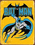 Poster Discount MS1357 Batman Retro Tin Sign, 13x16, Multi-Colored