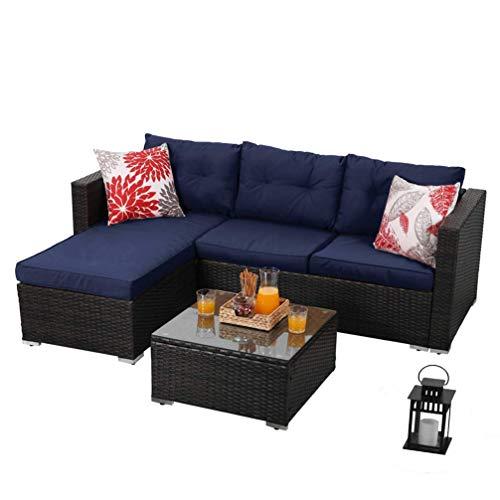 Amazon Com Phi Villa 3 Piece New Outdoor Furniture