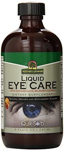 Nature's Answer Liquid Eye Care, 8-Fluid Ounces -