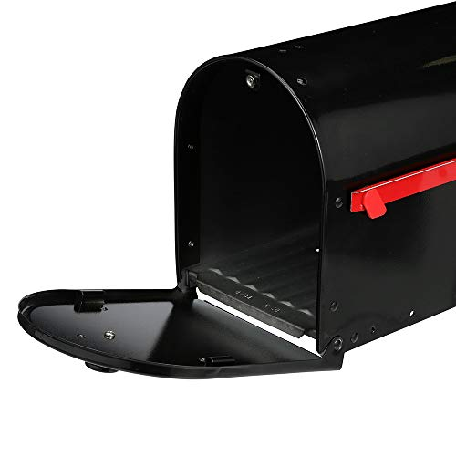 Gibraltar Mailboxes OM160B01 Outback Double Door, Large Capacity Mailbox Black by Gibraltar Mailboxes (Image #4)