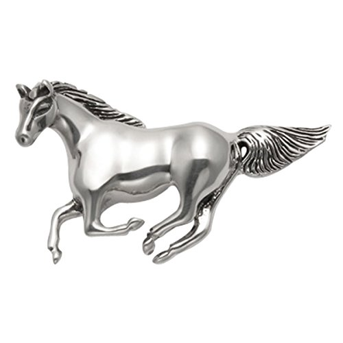 Wildthings Ltd Sterling Silver Galloping Horse Pin/Pendant