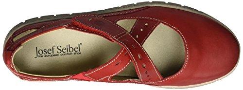 Steffi Sandals Seibel Open WoMen Josef 25 Toe Red Red w1C7qR
