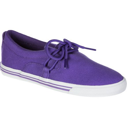 SUPRA Shoes wmns BELAY PURPLE-WHITE Morado - violeta