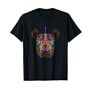 Colorful Save The Rhino Day Tshirt Gift for Men Women Kids