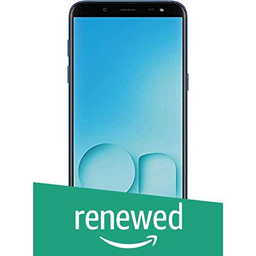 (Renewed) Samsung Galaxy On8 SM-J810GZBFINS (Blue, 4GB RAM, 64GB Storage)