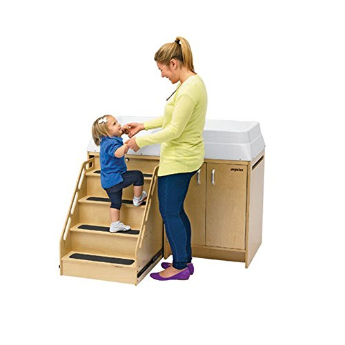 Kize Children Infant Changing Table With Stairs Baby