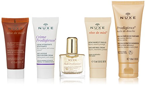 NUXE Travel Kit With 5 Deluxe Minis