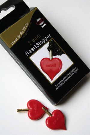 addi Click Turbo HeartStopper End-Caps Skacel Collection Inc. BCAC26952