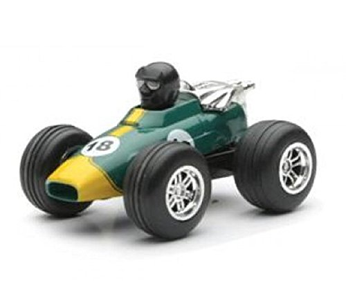 Formula Racer 1 - Mini Pull Back Formula 1 Racer 3 Inch Die Cast Toy - Green
