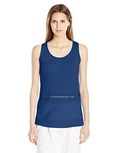 french-connection-womens-polly-plains-sleeveless-top-indian-ocean-medium