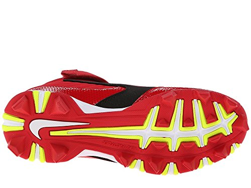 Nike Jongens Huarache Keystone 3/4 Honkbalknuppels Zwart / Wit / Varsity Rood