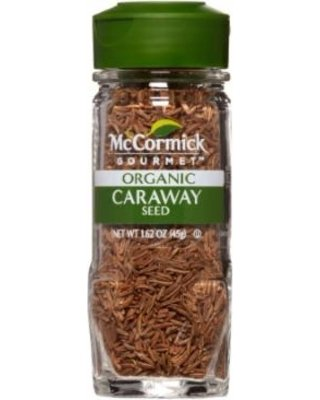 McCormick Organic Caraway Seed 1.62 oz (Pack of 3) by McCormick