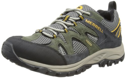 Merrell Sedona - Zapatos de deporte de exterior para hombre Verde/ Carbono