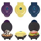 yellow waffle maker - Dash Mini Maker Griddle, Waffle Maker and Grill Set (Purple/Yellow/Blue)