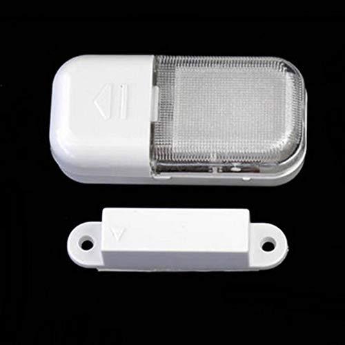 Bianco Nuovo Arrivo Wireless Automatico Funzionale LED sensore Magnetico Armadio Lampada Luminosa Super Bright per armadi Armadietto armadietto