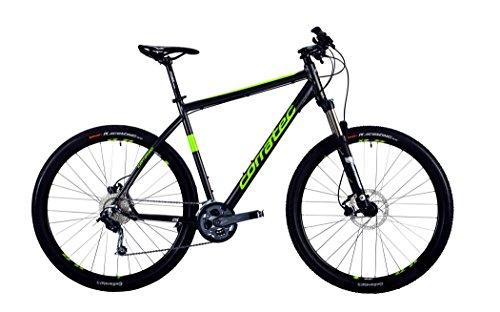 Corratec MT Cross Base Gent dark grey matt/lime green/white Rahmengröße 57 cm 2016 MTB Hardtail
