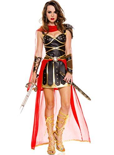 sc 1 st  Amazon.com & Amazon.com: Music Legs Womenu0027s Dark Greek Warrior: Clothing