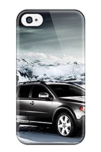 Cynthaskey Hard Case Cover 2008 Volvo Xc70 Protector For Apple Iphone 4/4S Case Cover