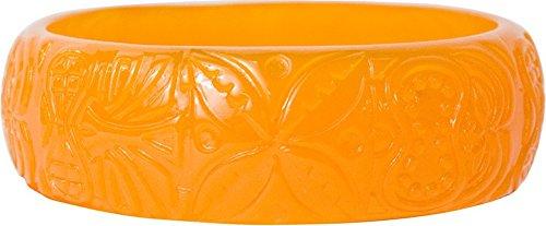 Orange Tiki Bracelet from Sourpuss Clothing
