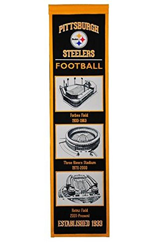 b4324084bd2 Image Unavailable. Image not available for. Color  Winning Streak NFL  Pittsburgh Steelers Stadium Evolution Banner