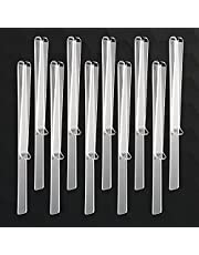 10Pcs Wind Clips for Music Stand,Music Page Holder Clip,Music Stand Clips,Sheet Music Holders,Clear Acrylic Music Page Holder Clips for Outdoor Playing,Music Reading